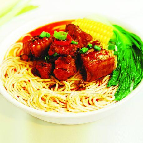 云南香辣排骨米线-1