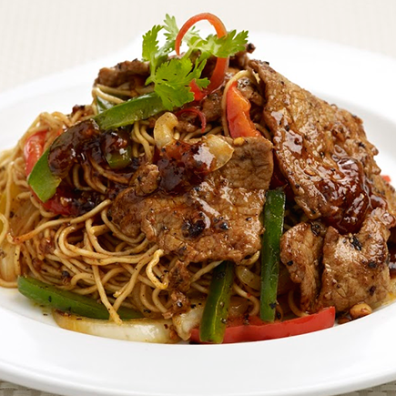 Black-Pepper-Beef-Fried-Noodles