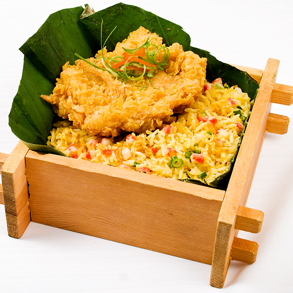 Lotus-Chicken-Chop-Fried-Rice