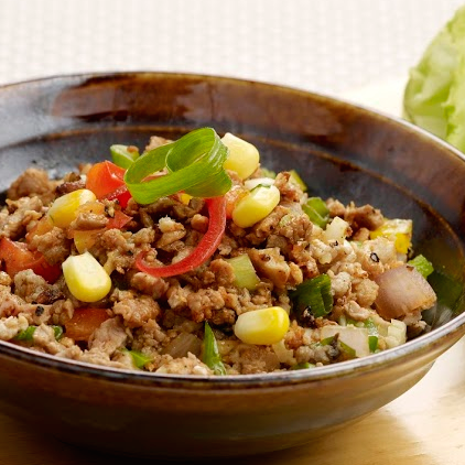 Minced-Pork-Lettuce-Wrap