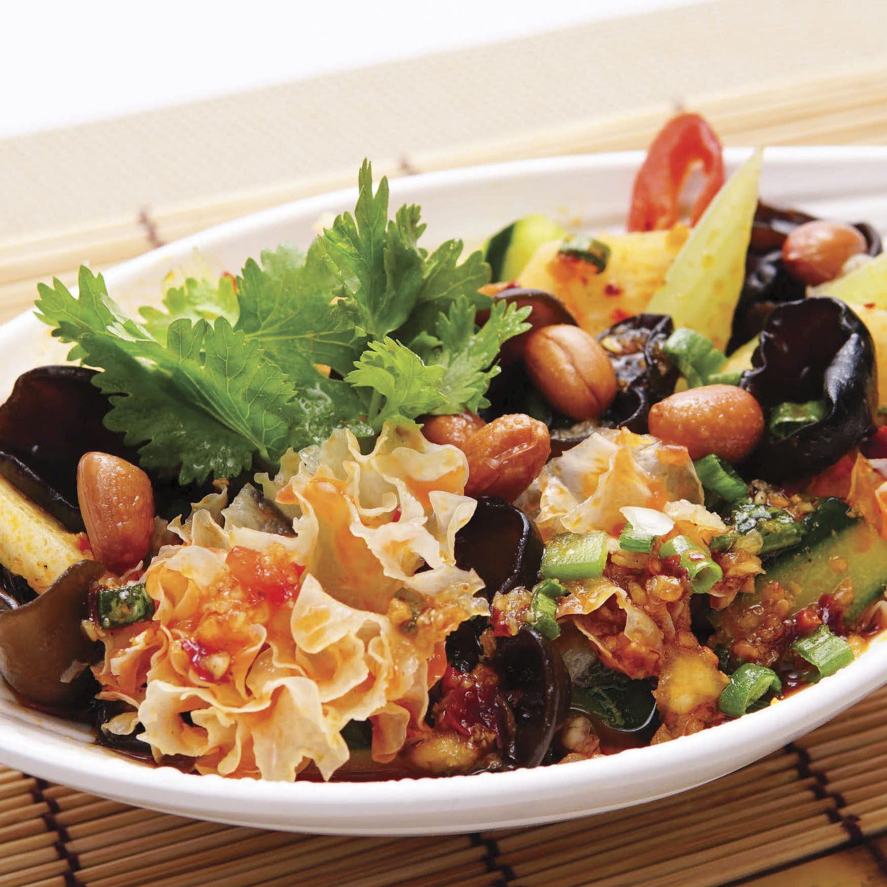 B2 Black White Fungus Salad