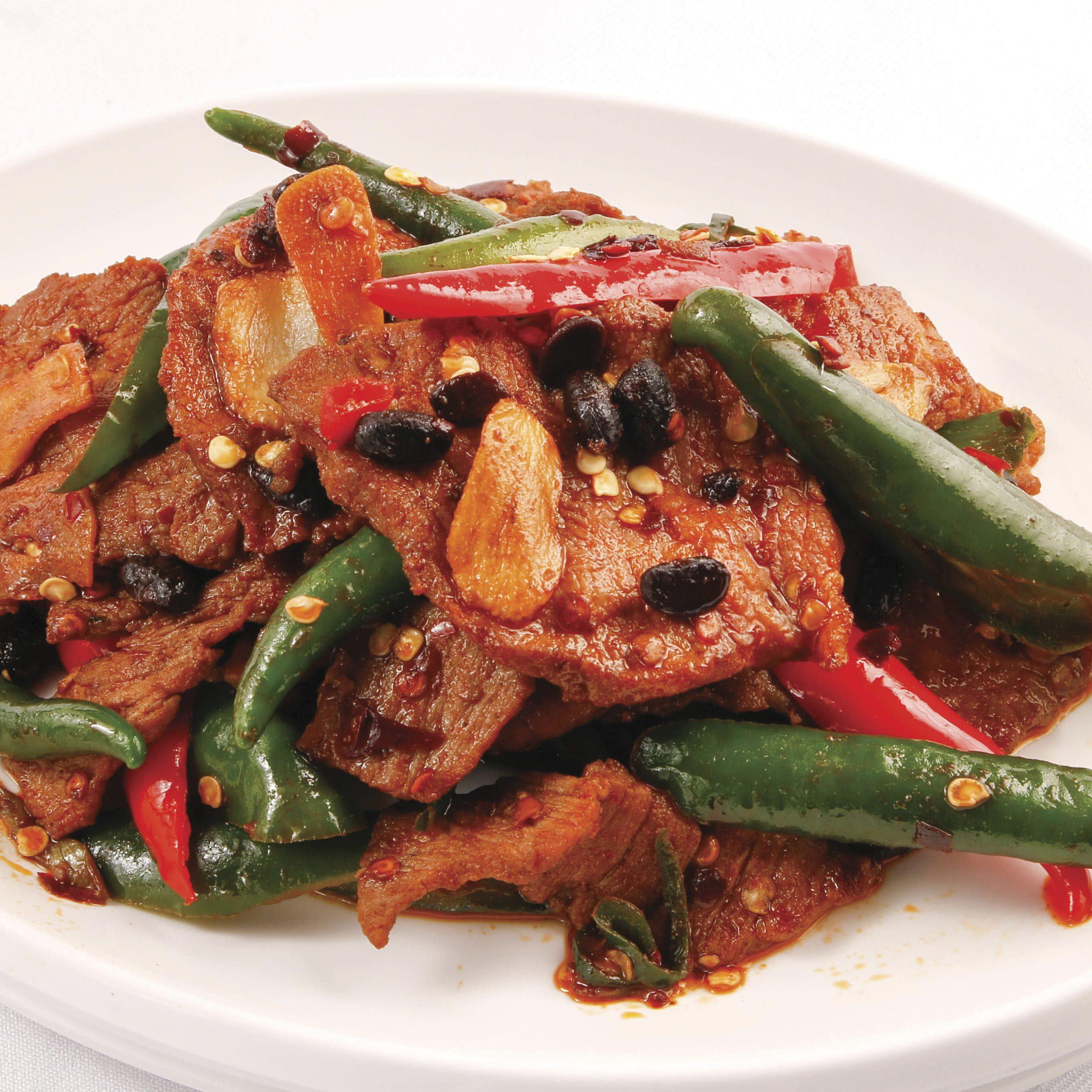B3 Sze Chuan Green Chilli Pork