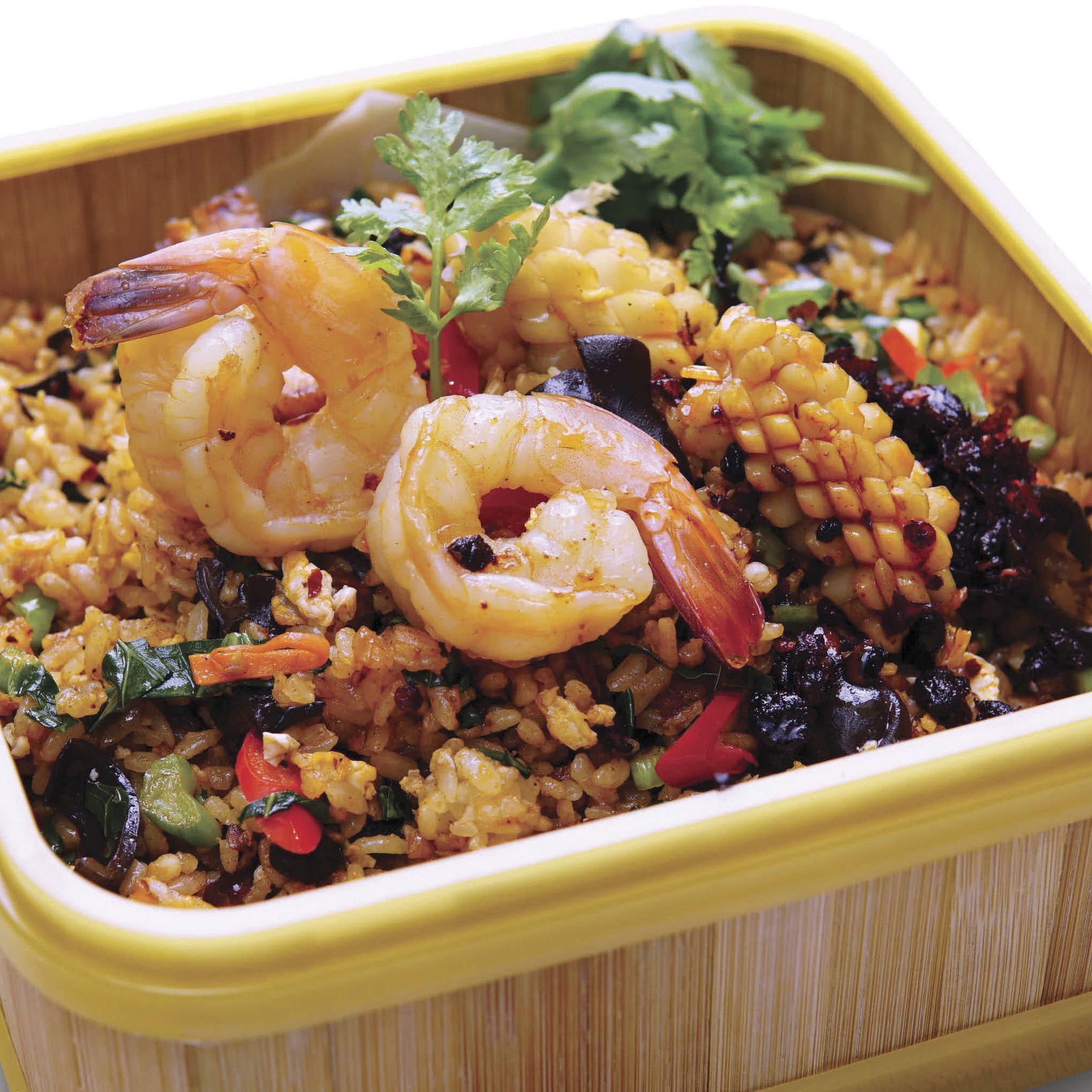 R4 Lao Gan Ma Spicy Black Bean Fried Rice