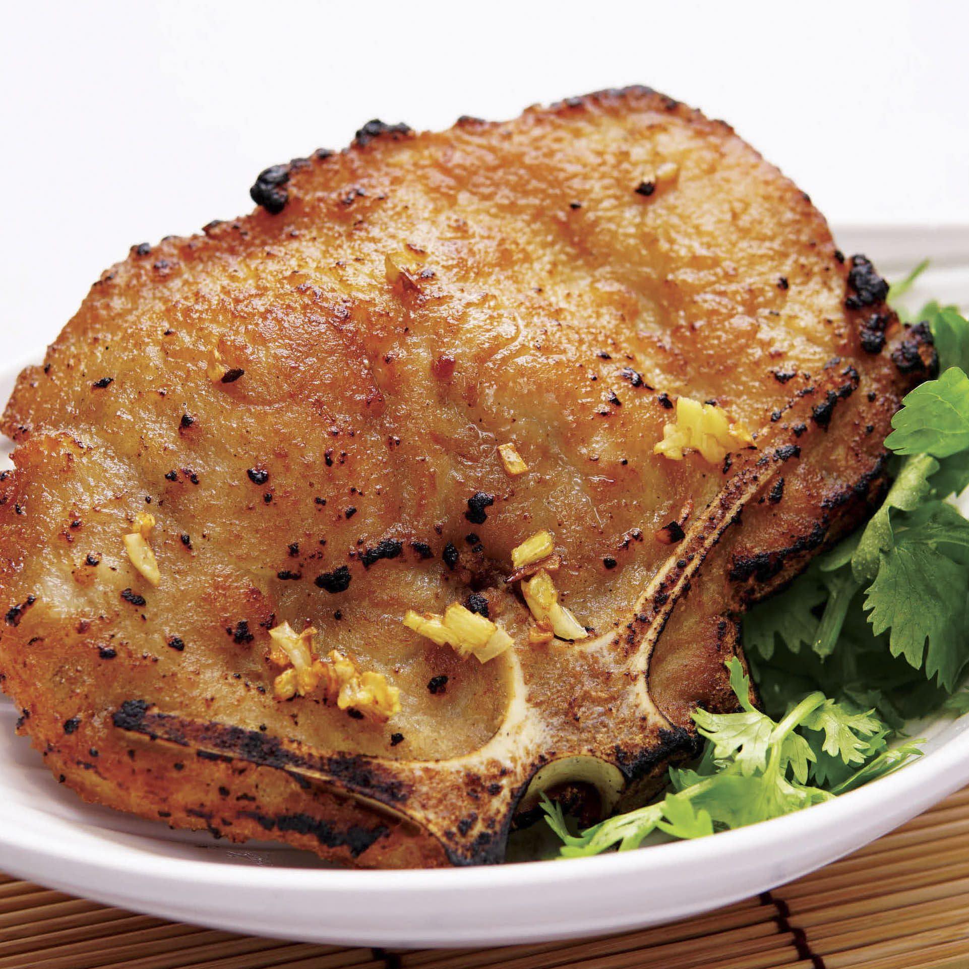 B4 Garlic Pork Chop
